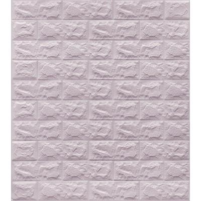 NW04 Lila Tuğla Desen Kendinden Yapışkanlı Tuğla Esnek Duvar Paneli Fiyatları
