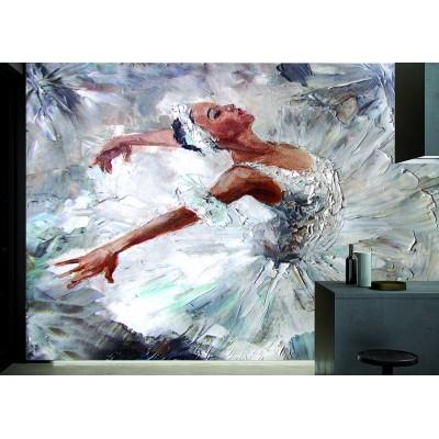 Yağlı Boya Balerin Dansçı