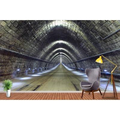Tünel Derinlik  Özel Tasarım  Duvar Kağıdı Baskı