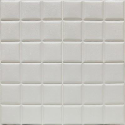 3 Renk Seçenekli Küp Desen  Kendinden Yapışkanlı Esnek Sünger Tavan Kaplama Paneli Freewall