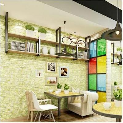 5 Renk Seçenekli Mermer Desenli Kendinden Yapışkanlı Esnek Sünger İç Yumuşak Strafor Duvar Paneli