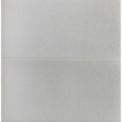 3D Beyaz Pütürlü Deri Desen Kendinden Yapışkanlı Sticker Duvar Paneli