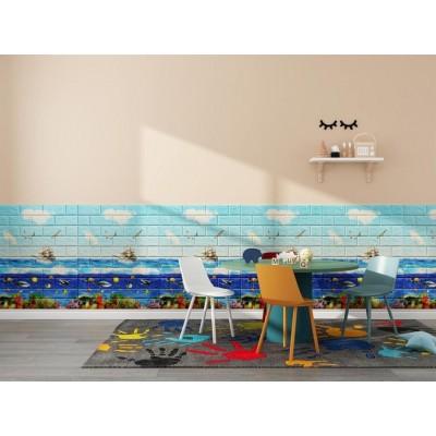 NW76 Gemi Okyanus 3D Kendinden Yapışkanlı Folyo Duvar Paneli