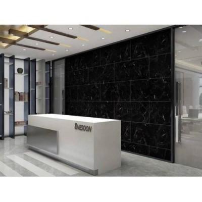 Yapışkanlı Siyah Mermer Desen 1 Adet 30x60 cm Zemin Duvar Döşeme Panel